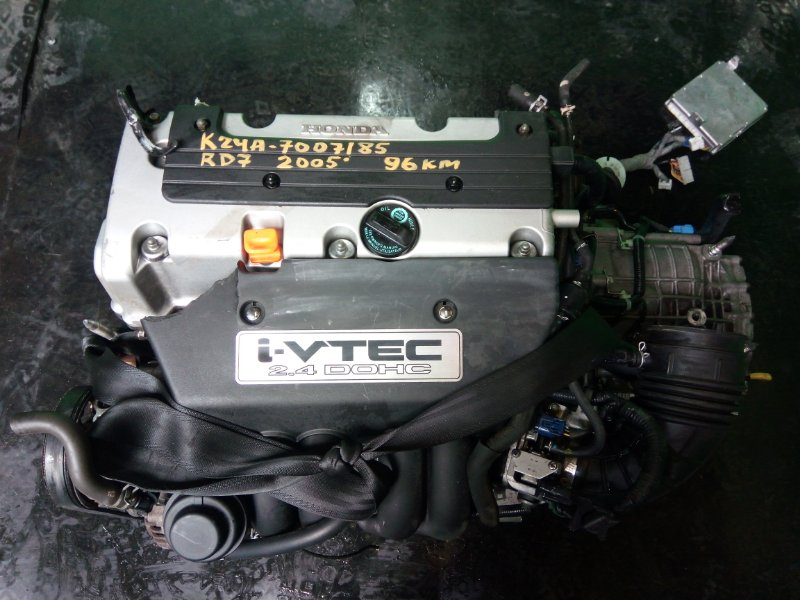 Двигатель Honda Crv RD7 K24A 2005 (б/у)