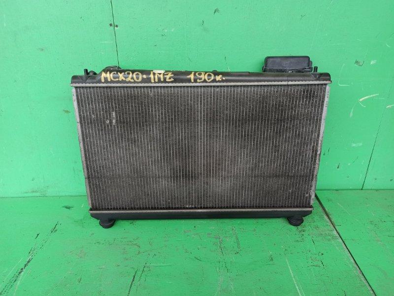 Радиатор основной Toyota Pronard MCX20 1MZ-FE (б/у)