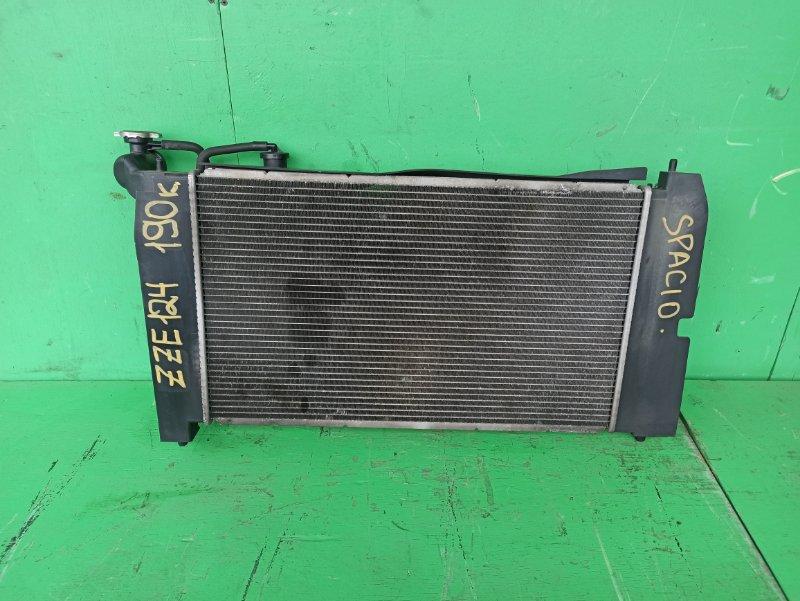 Радиатор основной Toyota Spacio ZZE124 1ZZ-FE (б/у)