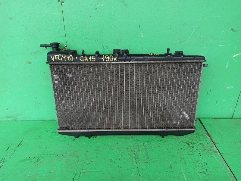 Радиатор основной Nissan Ad Y10 GA15 (б/у)