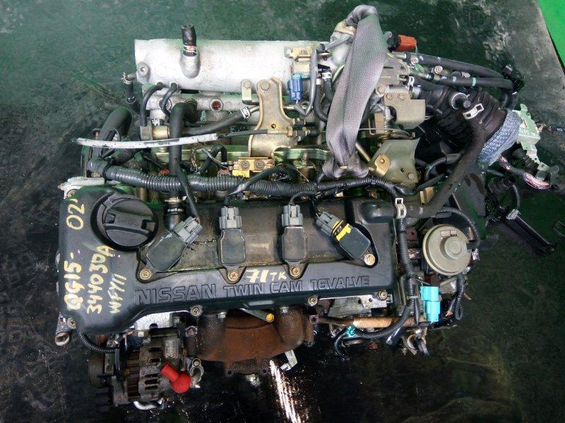 Двигатель Nissan Wingroad WFY11 QG15-DE 2002 (б/у)