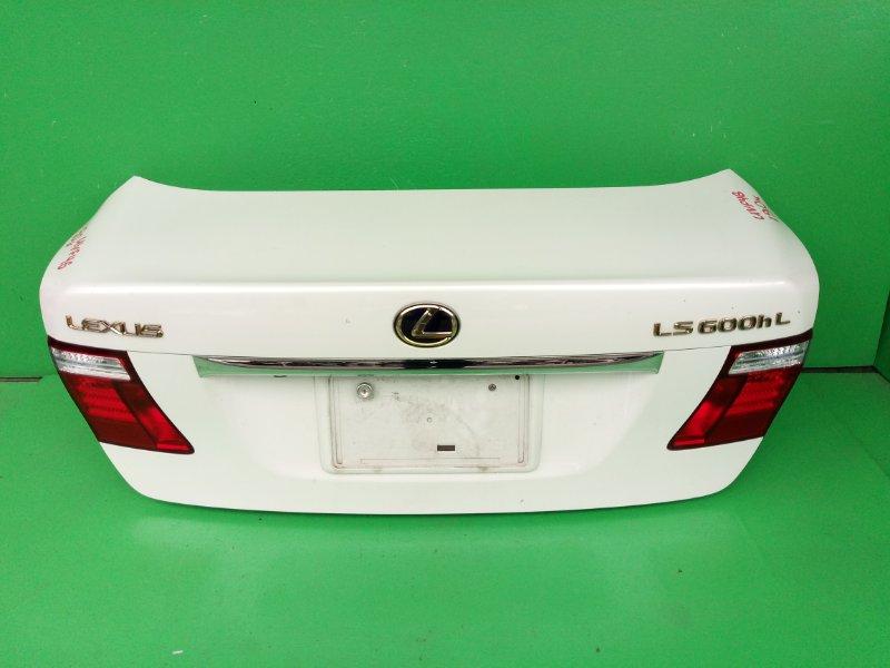 Крышка багажника Lexus Ls600H UVF46 (б/у)