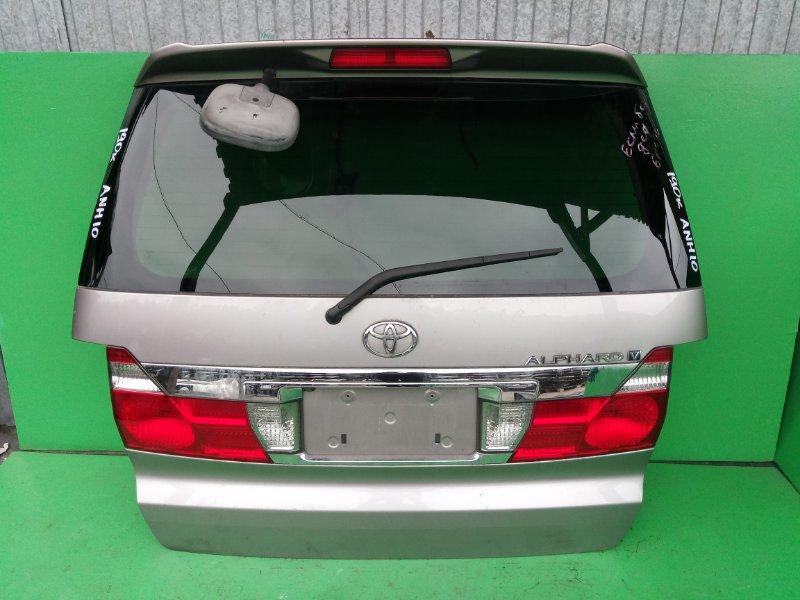 Дверь задняя Toyota Alphard ANH10 (б/у)