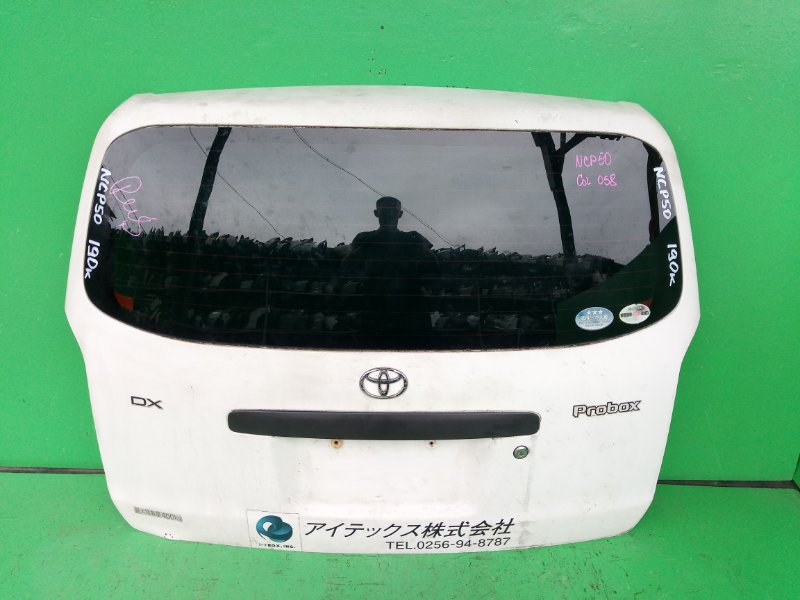 Дверь задняя Toyota Probox NCP50 (б/у)