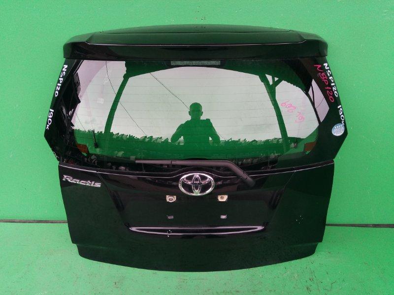 Дверь задняя Toyota Ractis NSP120 (б/у)