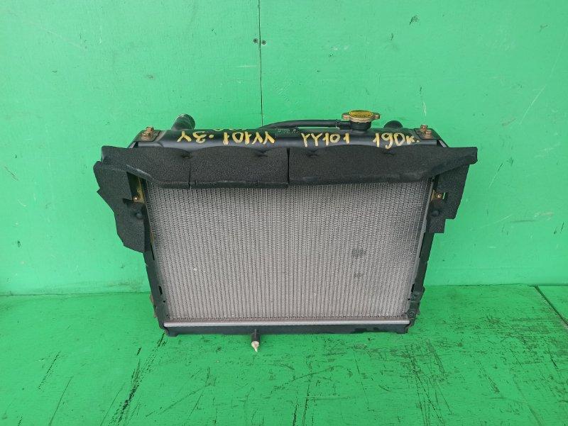 Радиатор основной Toyota Dyna YY101 3Y (б/у)