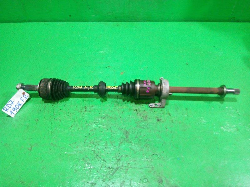 Привод Honda Crv RD7 передний правый (б/у)