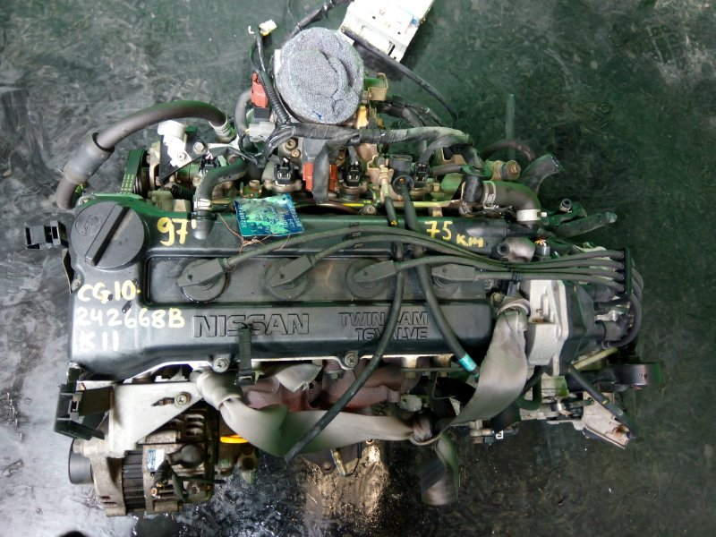 Двигатель Nissan March K11 CG10-DE 1997 (б/у)