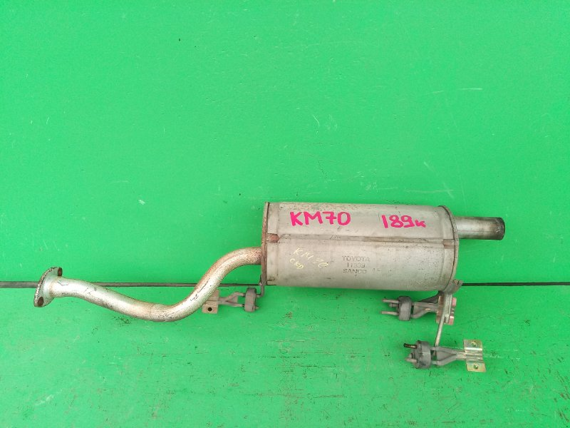 Глушитель Toyota Town Ace KM70 (б/у)