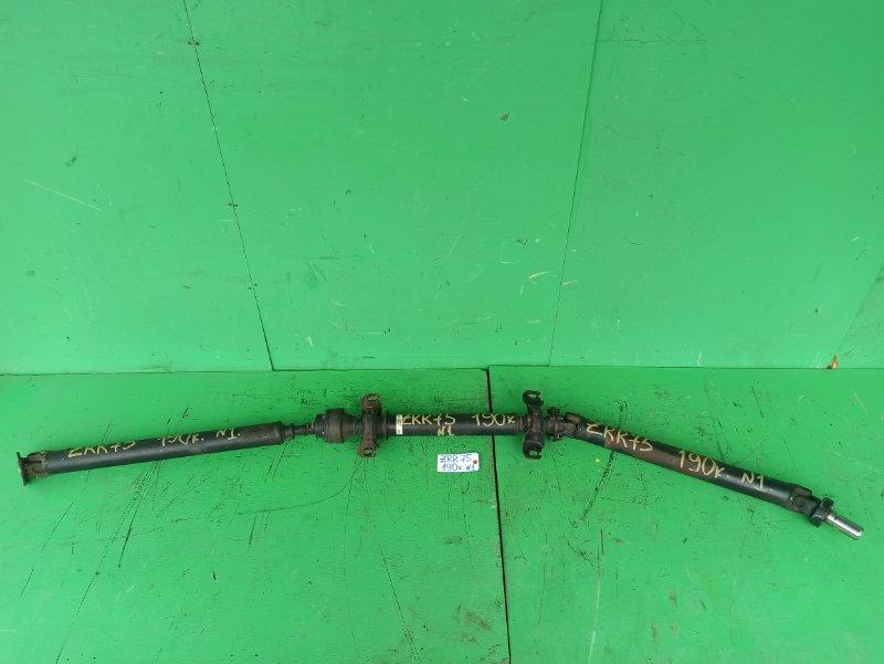 Карданный вал Toyota Noah ZRR75 задний (б/у) №1