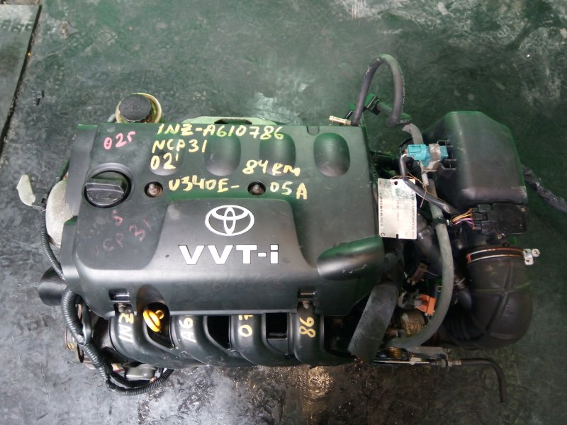 Двигатель Toyota Bb NCP31 1NZ-FE 2002 (б/у)