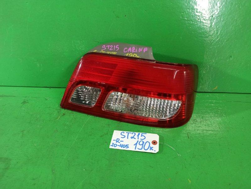 Стоп-сигнал Toyota Carina ST215 правый (б/у)