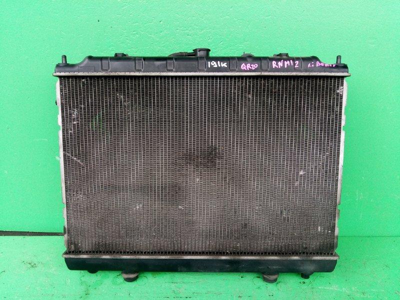 Радиатор основной Nissan Liberty M12 QR20-DE (б/у)