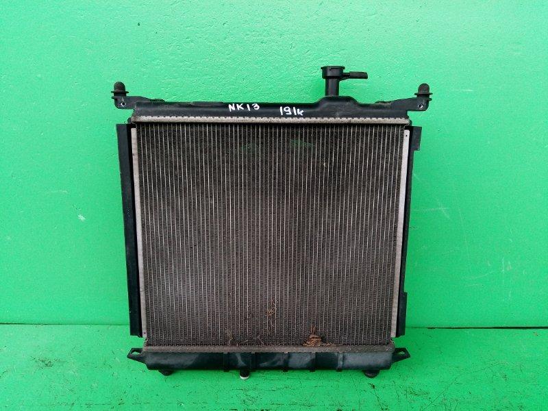 Радиатор основной Nissan March K13 HR12-DE (б/у)