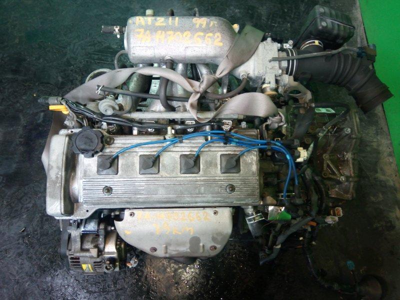 Двигатель Toyota Caldina AT211 7A-FE 1999 (б/у)