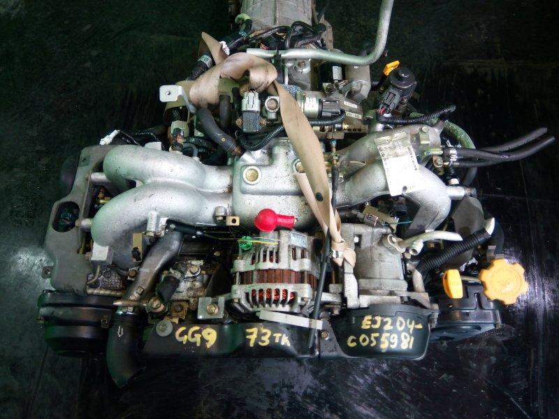 Двигатель Subaru Impreza GG9 EJ204 2003 (б/у)