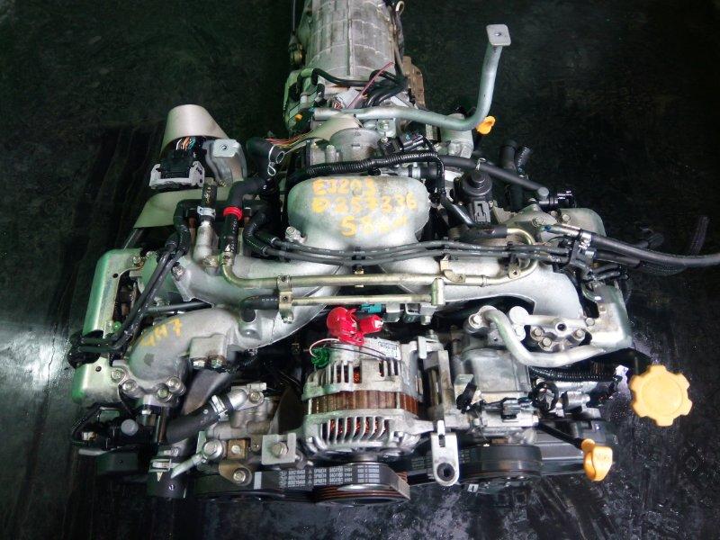 Двигатель Subaru Impreza GH7 EJ203 2007 (б/у)