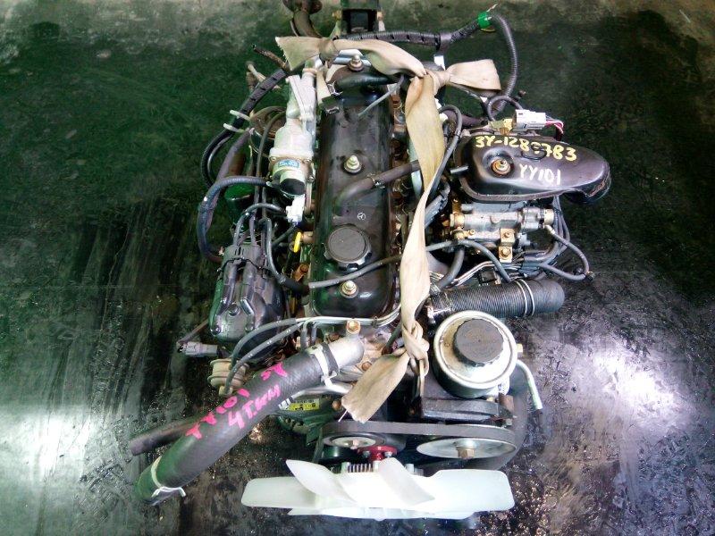 Двигатель Toyota Dyna YY101 3Y 1997 (б/у)