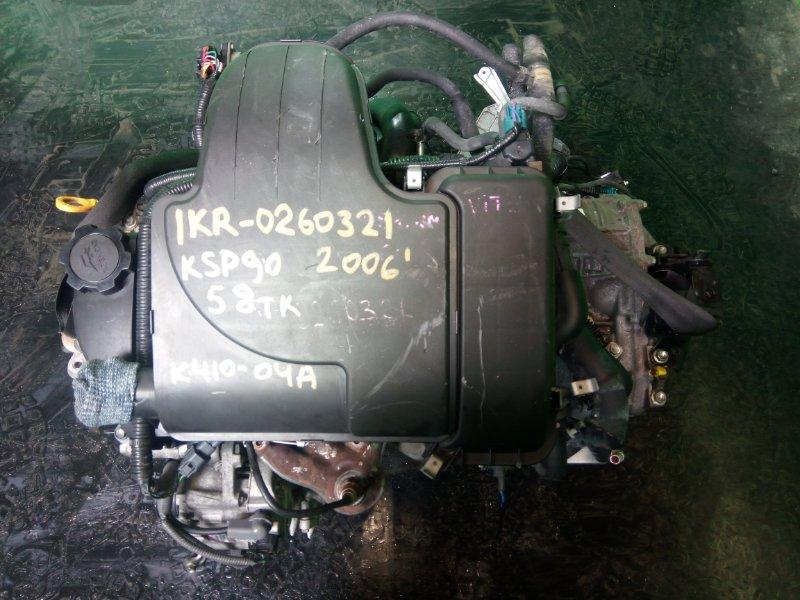 Двигатель Toyota Vitz KSP90 1KR-FE 2006 (б/у)