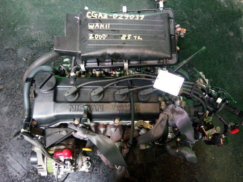 Двигатель Nissan March WAK11 CGA3-DE 2000 (б/у)