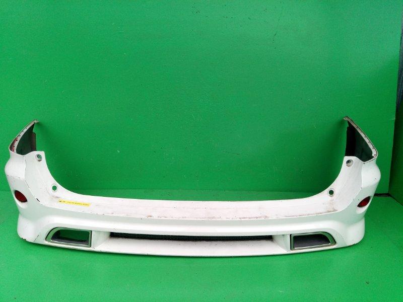 Бампер Nissan Wingroad Y12 задний (б/у)