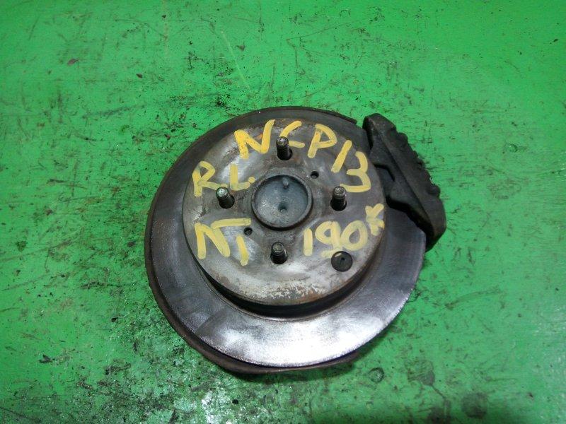 Ступица Toyota Vitz NCP13 задняя левая (б/у) №1