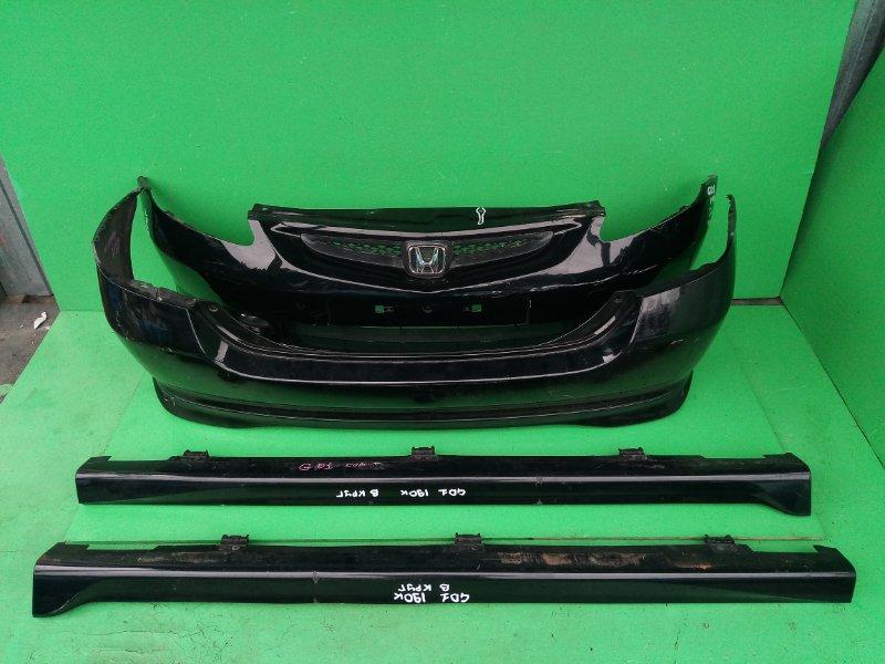 Обвес Honda Fit GD1 передний (б/у)