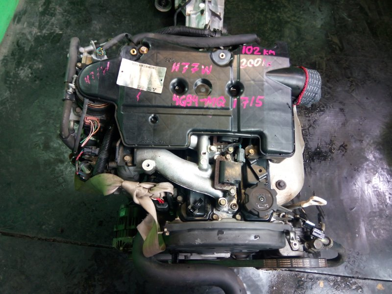 Двигатель Mitsubishi Pajero Io H77W 4G94 2001 (б/у)