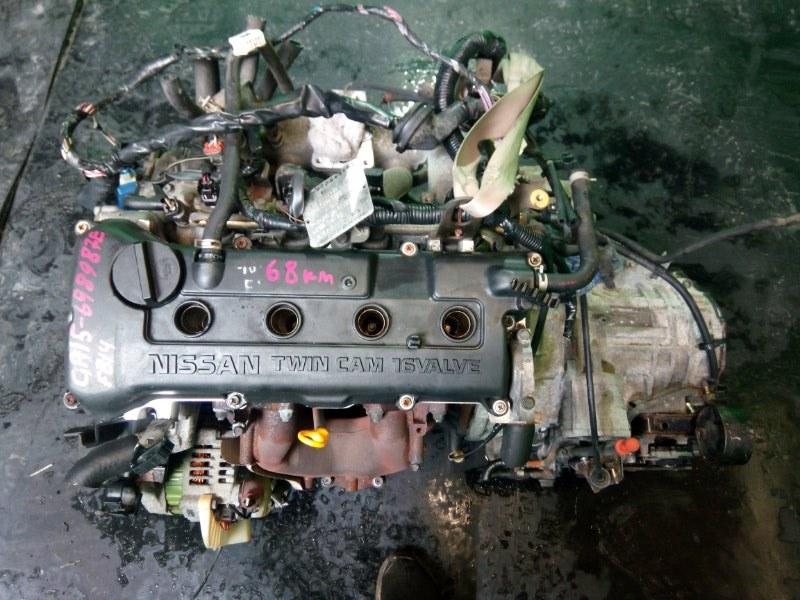 Двигатель Nissan Sunny FB14 GA15-DE (б/у)