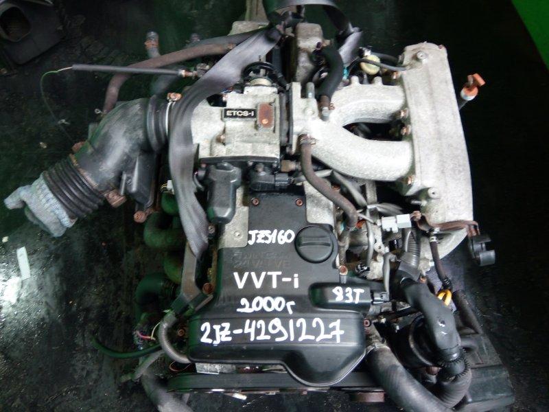 Двигатель Toyota Aristo JZS160 2JZ-GE 2000 (б/у)