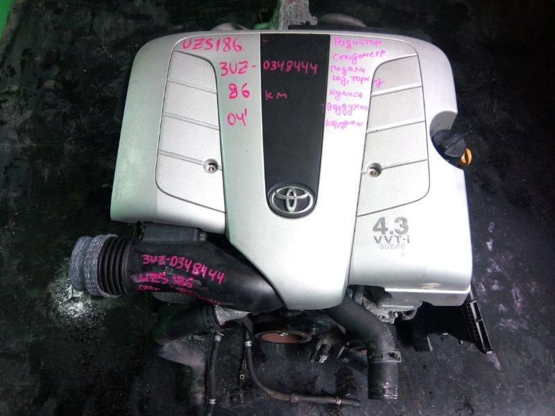 Двигатель Toyota Crown Majesta UZS186 3UZ-FE 2004 (б/у)