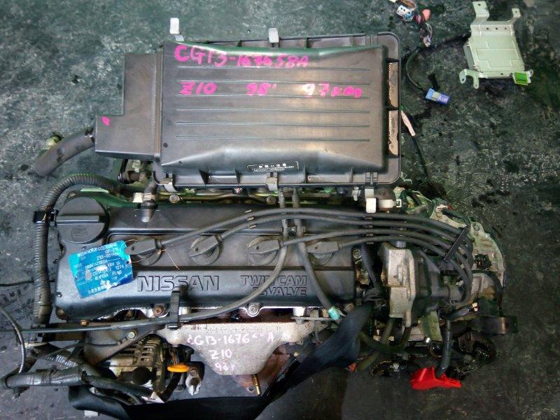Двигатель Nissan Cube Z10 CG13-DE 1998 (б/у)