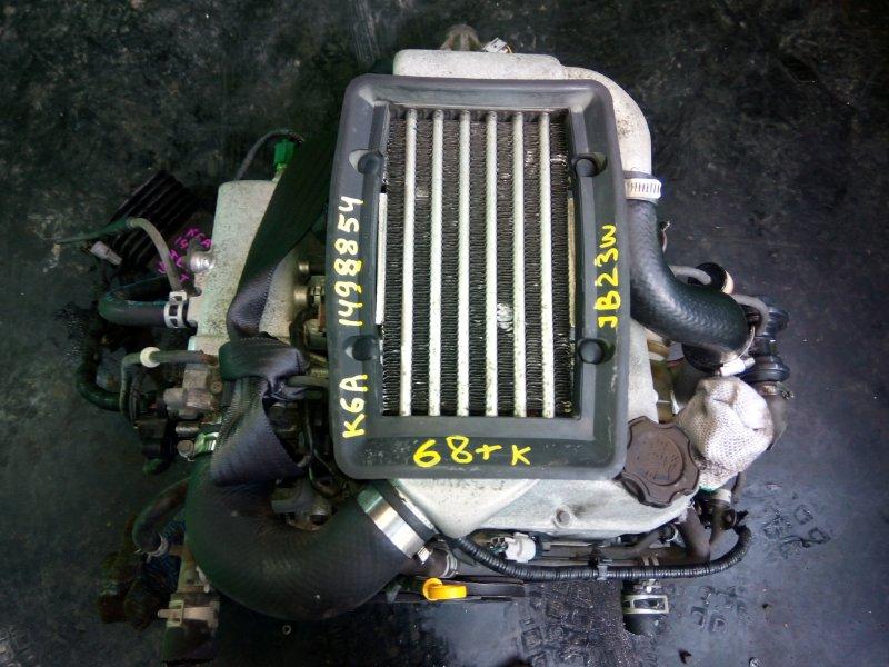 Двигатель Suzuki Jimny JB23W K6A-T (б/у)