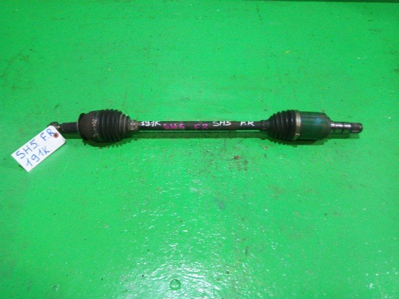 Привод Subaru Forester SH5 передний правый (б/у)