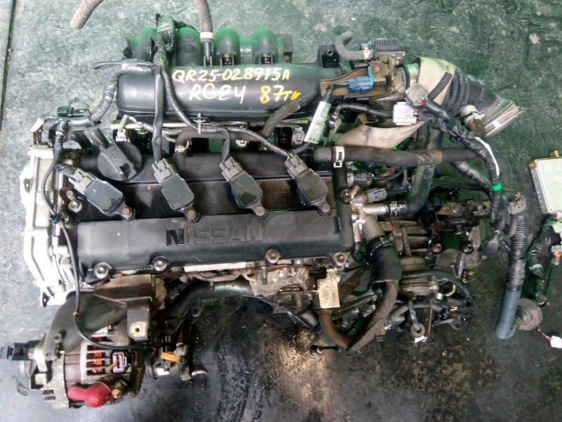 Двигатель Nissan Serena RC24 QR25-DE (б/у)