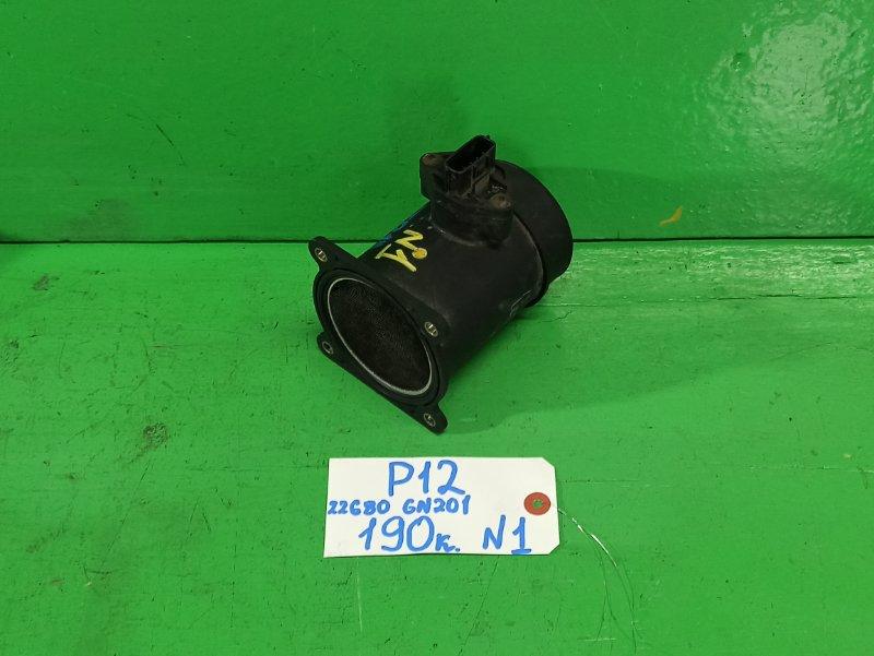 Датчик потока воздуха Nissan Primera P12 (б/у) №1
