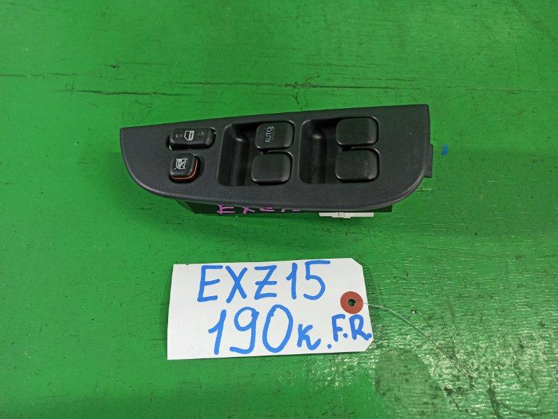 Блок упр. стеклоподьемниками Toyota Raum EXZ15 передний правый (б/у)