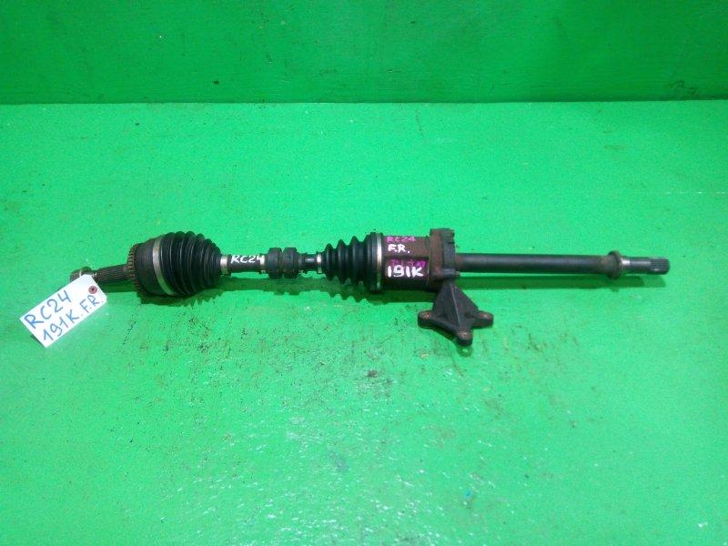 Привод Nissan Serena C24 QR25-DE передний правый (б/у)