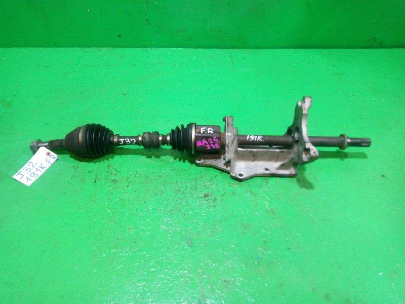 Привод Nissan Teana J32 QR25-DE передний правый (б/у)
