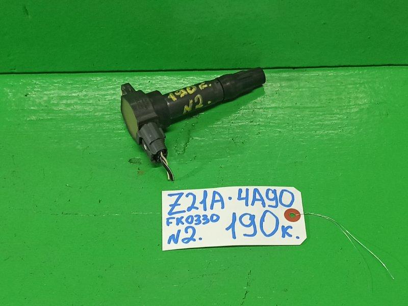Катушка зажигания Mitsubishi Colt Z21A 4A90 (б/у) №2