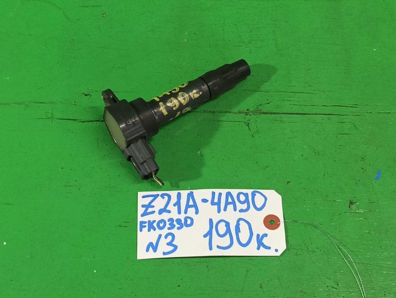 Катушка зажигания Mitsubishi Colt Z21A 4A90 (б/у) №3