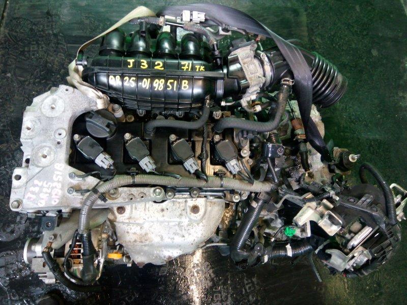 Двигатель Nissan Teana J32 QR25-DE (б/у)