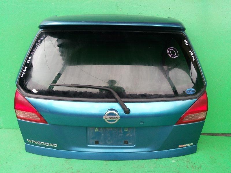 Дверь задняя Nissan Wingroad Y11 (б/у)