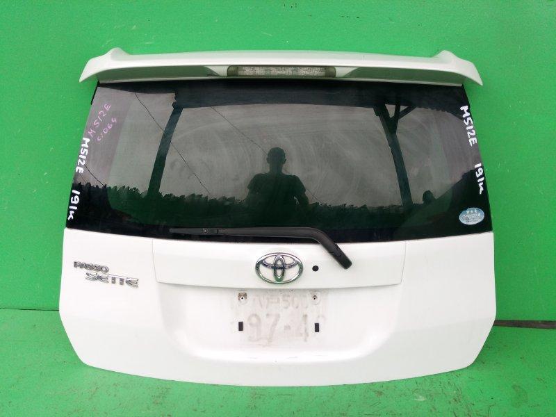 Дверь задняя Toyota Passo Sette M512E (б/у)