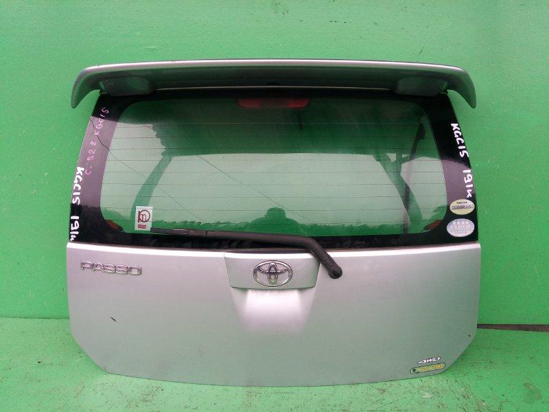 Дверь задняя Toyota Passo KGC15 (б/у)