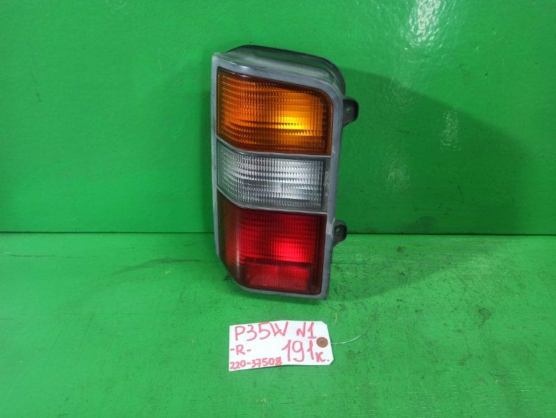 Стоп-сигнал Mitsubishi Delica P35W левый (б/у)