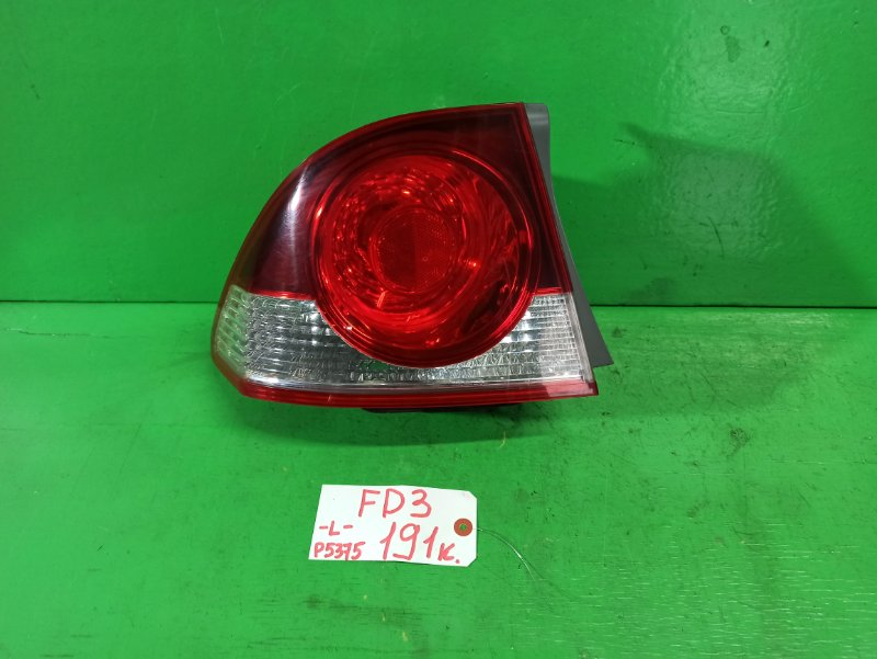 Стоп-сигнал Honda Civic FD3 левый (б/у)