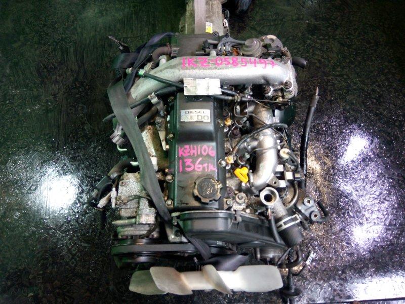 Двигатель Toyota Hiace KZH106 1KZ-TE (б/у)