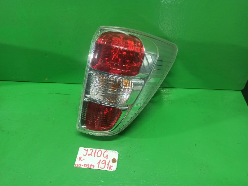 Стоп-сигнал Toyota Rush J210G правый (б/у)