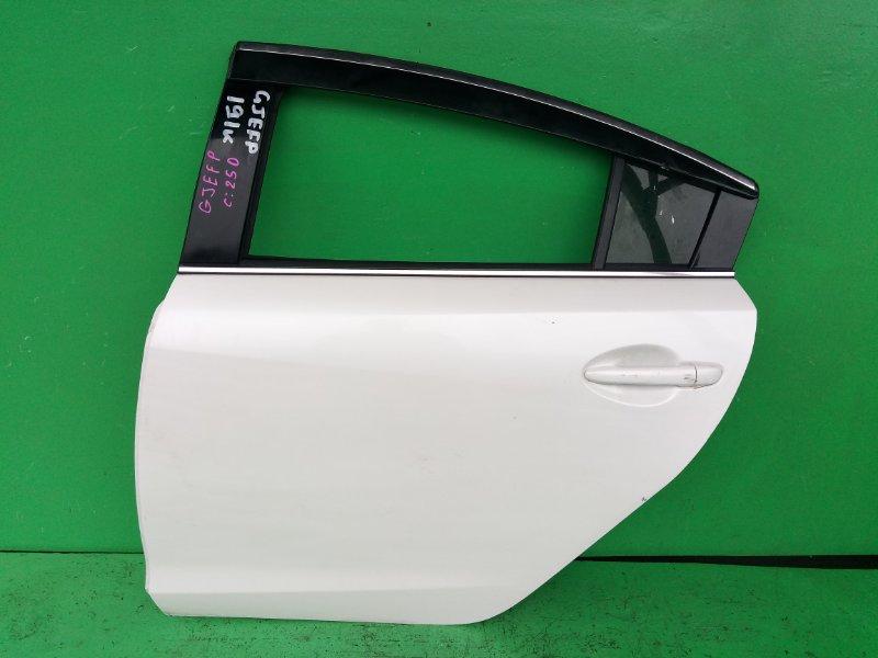 Дверь Mazda Atenza GJEFP задняя левая (б/у)